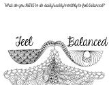 Feel Balanced Journal Page