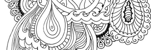 Rainy Day FREE Adult Coloring Page