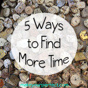 5 Baby Steps to Find More Time