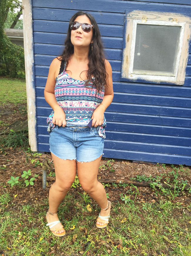 DIY cutoffs for moms