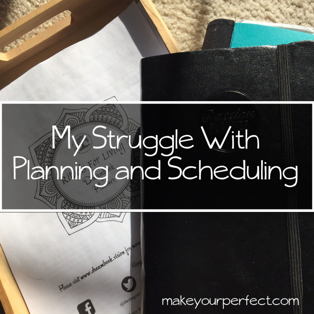 struggle with planning