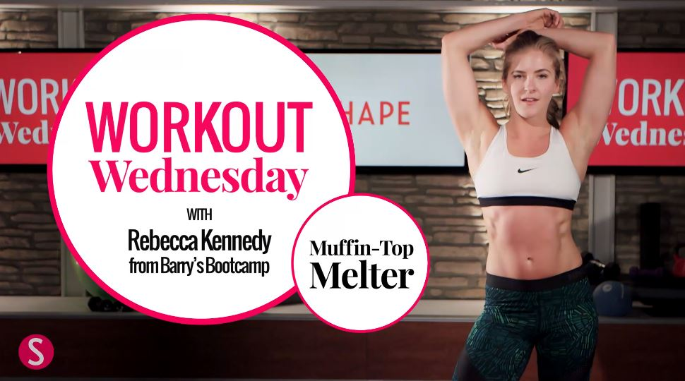 Muffin top melter 10 minute workout