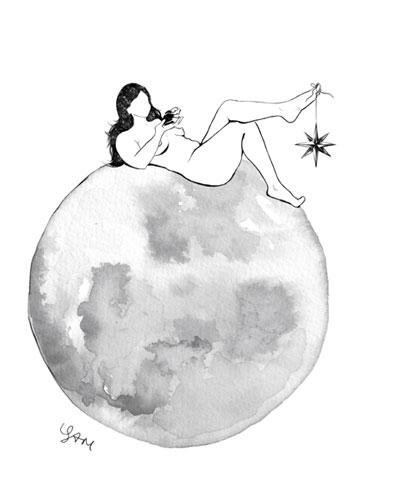 Full Moon Fever Art Print